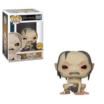 "FunKo POP! Movies Lord of the Rings Gollum 3.75"" CHASE VARIANT Vinyl Figure"