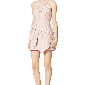 BCBGMAXAZRIA Blush Beverly Dress