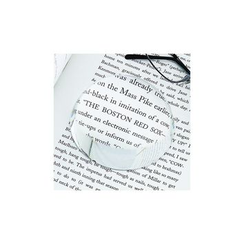 Optic Glass Dome Paperweight - Etching Personalized Gift Item
