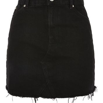 MOTO Denim Mini Skirt | Topshop