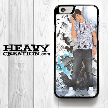 Austin Mahone Collage Photo for iPhone 4 4S 5 5S 5C 6 6 Plus , iPod Touch 4 5  , Samsung Galaxy S3 S4 S5 S6 S6 Edge Note 3 Note 4 , and HTC One X M7 M8 Case