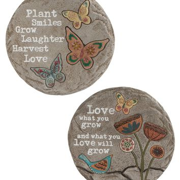 Garden Love Stepping Stone Wall Hangings