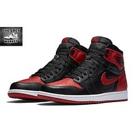 Best Deal Nike AIR JORDAN 1 RETRO 'BRED' 2016 VERSION