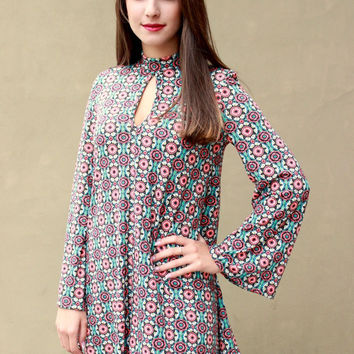 Bethel Bell Sleeve Dress