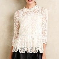 Nautical Lace Top
