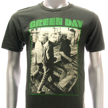 Asia Size Sz S M L XL Green Day T-shirt Billie Joe 21st Century Breakdown Black Many Size