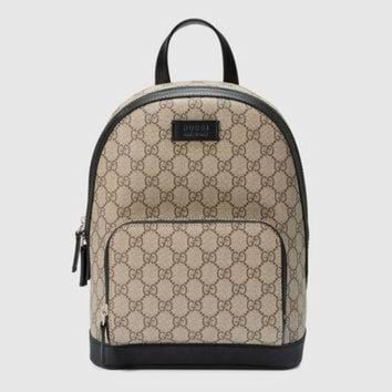 ONETOW Gucci GG Supreme small backpack