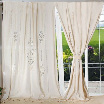 Crochet and Lace Curtains