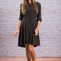 Total Foxtrot Dress, Black