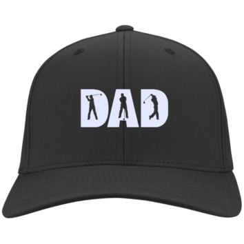 Golf Dad Hats & Knit Caps (Dark Colors)