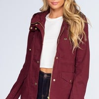 Mercer Jacket - Burgundy