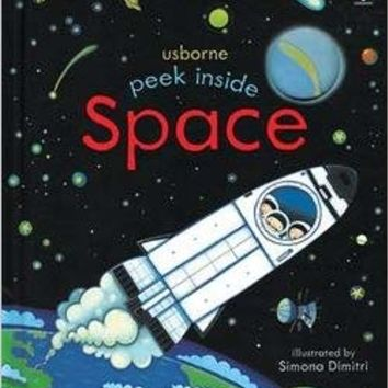 Peek Inside Space Board book – 2016