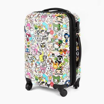 tokidoki x Sanrio Hello Kitty & Friends Rolling Suitcase Luggage