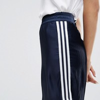 adidas Originals Adicolor Deluxe Pleated Skirt at asos.com