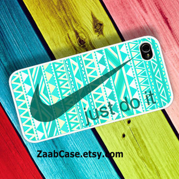 Nike Case , Nike Just Do It Case ,  Aztec iPhone Case : iPhone 4/4s Case , iPhone 5 Case , Galaxy S3 Case , Galaxy S4 Case
