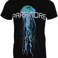 Paramore Digital Jelly Men's Black Slim Fit T-Shirt - Offical Band Merch - Buy Online at Grindstore.com