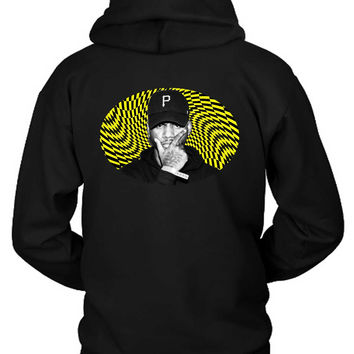 Bryson Tiller Holographic Yellow Hoodie Two Sided