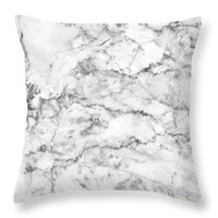 Marble Walls - Throw Pillow
