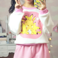 Cutie Pikachu Jumper SP154277 from SpreePicky