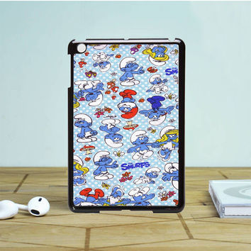 Yard Smurf Polka Dots IPad Mini 1 2 Case Auroid