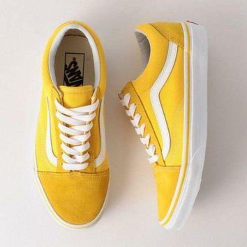 Vans Classics Old Skool Canvas Sneakers Sport Shoes