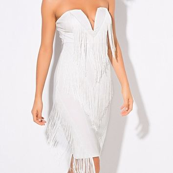 Verana Tassel Luxury Dress