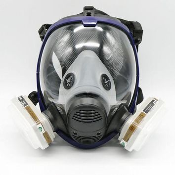 ESBONHS 7 Piece Full Face Mask For  6800 Gas Mask Full Face Facepiece Respirator For Painting Spraying Free Shipping