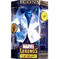 Marvel Legends Icons Series 3 the Beast Variant Blue Beast with Lab Coat