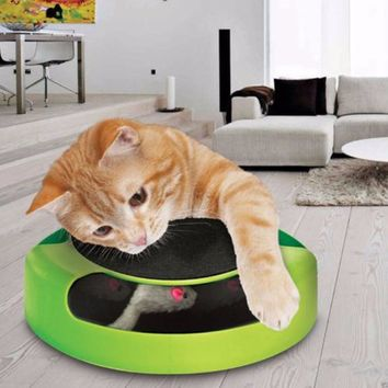 Kitten Toys with Moving Mouse