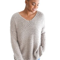 Float On Sweater In Grey