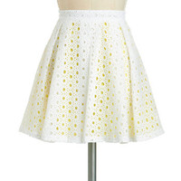 Sun and Clouds Skirt | Mod Retro Vintage Skirts | ModCloth.com