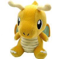 "Pokemon Plush Toy Dragonite 7"" Cute Collectible Soft Stuffed Animal Doll"
