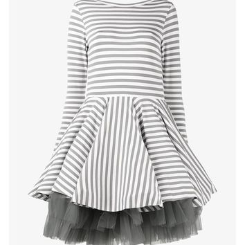 Mini Striped Jersey Dress - NATASHA ZINKO