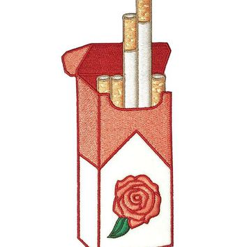 Pink Cigarettes Patch