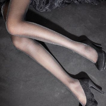 1PC New Fashion Summer Sexy Charming Shiny Pantyhose Glitter Stockings for Women Glossy Tights