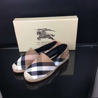 shosouvenir Burberry Fashion leisure fisherman shoes