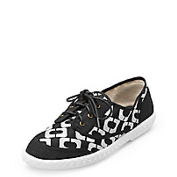 DVF Bea Too Chain Link Printed Sneaker
