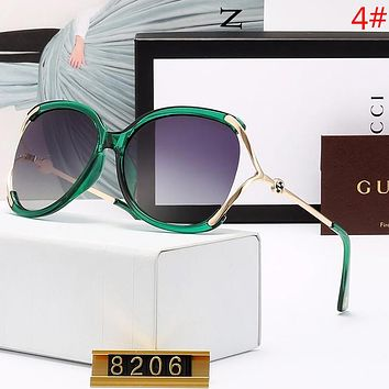 GUCCI Fashion New Polarized Sunscreen Travel Glasses Eyeglasses Women