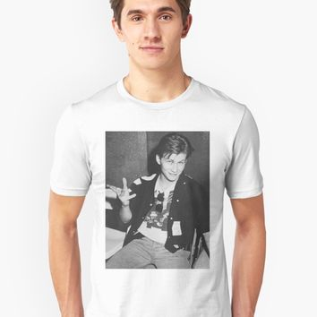 'Young 80s Christian Slater ' T-Shirt by gabzthedreamer