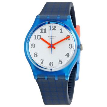 Swatch Back To School Silver Dial Ladies Watch GS149
