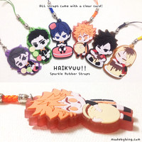 Haikyuu!! Rubber Straps from made by BING