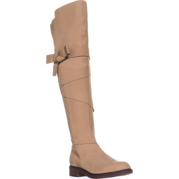 Kelsi Dagger Brooklyn Colby Over The Knee Boots, Ginger Leather, 9 US / 39.5 EU