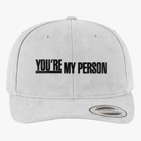 Grey's Anatomy - You're My Person Brushed Embroidered Cotton Twill Hat