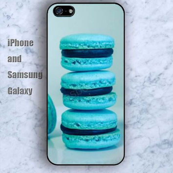 Cake Macarons dream iPhone 5/5S Ipod touch Silicone Rubber Case Phone cover Waterproof