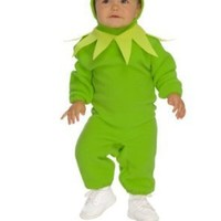 Rubie`s Costume Co The Muppets Romper And Headpiece Kermit The Frog