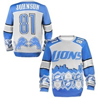 Detroit Lions Calvin Johnson Ugly Sweater