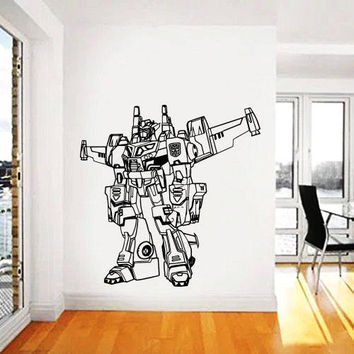 Transformers Wall Decal,Prime Wall Sticker,Bumblebee wall decal,Kids Wall sticker,Bedroom Wall Sticker,Nursery wall decal kau 261