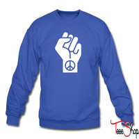 Peaceful Protest crewneck sweatshirt