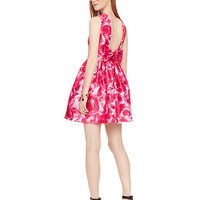 brushstroke rose nilani dress