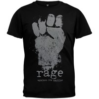Rage Against The Machine - Fist Soft T-Shirt